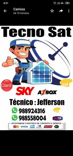 serviço de instalação e manutenção de antenas