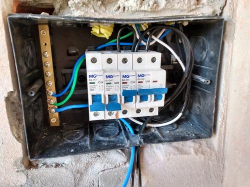 serviço de instalação elétrica residencial e predial