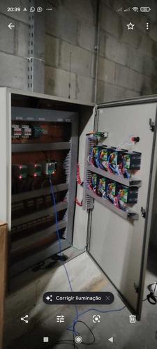 serviço elétrico instalação e comando elétrica e eficiência