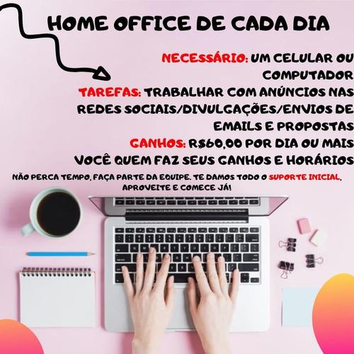 serviço home office - ganhe uma renda extra !!!!
