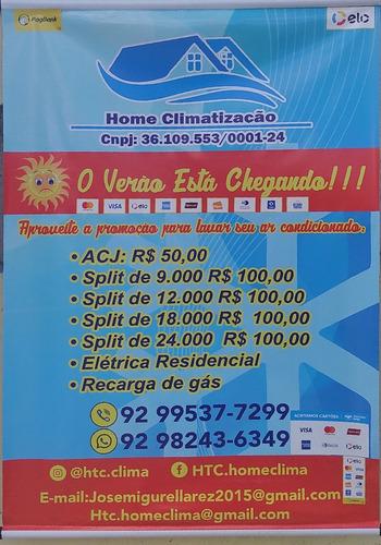 serviço técnico instalação e manutenção de ar condicionado