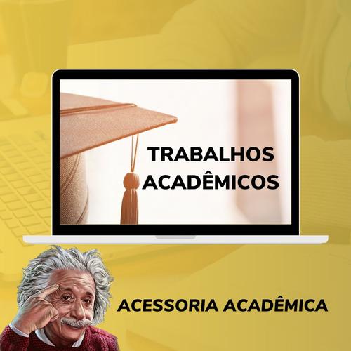 serviços assessoria acadêmica