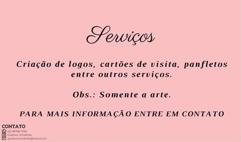 serviços de artes para logos, cartão de visita entre outros
