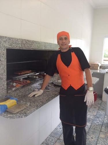 serviços de churrasqueiro,assistente, hosters e segurança