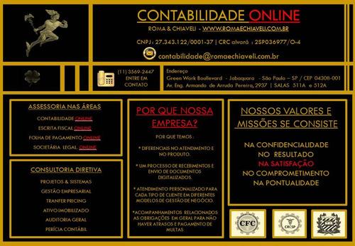 serviços de contabilidade online - abertura de empresa