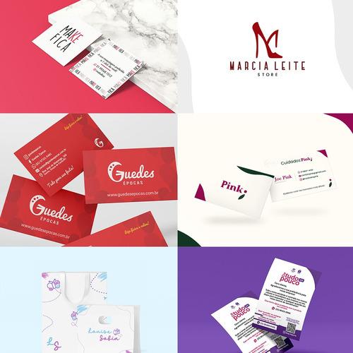 serviços de design gráfico logotipo papelaria estampa