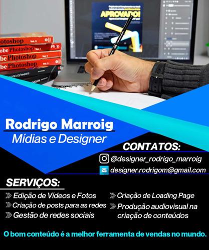 serviços de designer e redes sociais