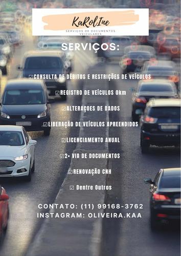serviços de documentos de veículos e cnh
