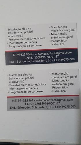 serviços de  eletrecista industrial  automação  e residencia