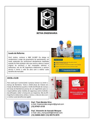 serviços de engenharia (laudos, alvarás, avcb, clcb)