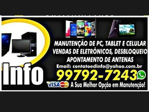 serviços de manutenção em celular e computadores