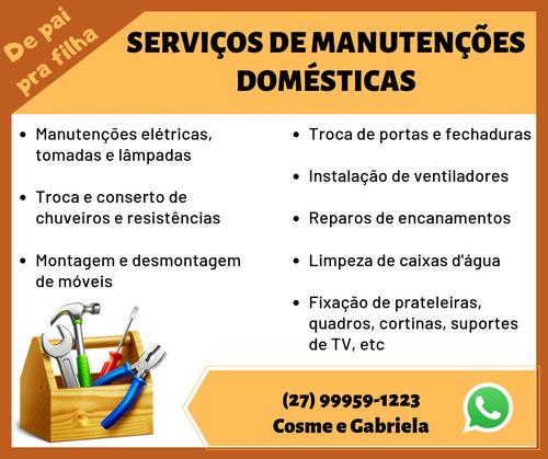 serviços de manutenções domésticas
