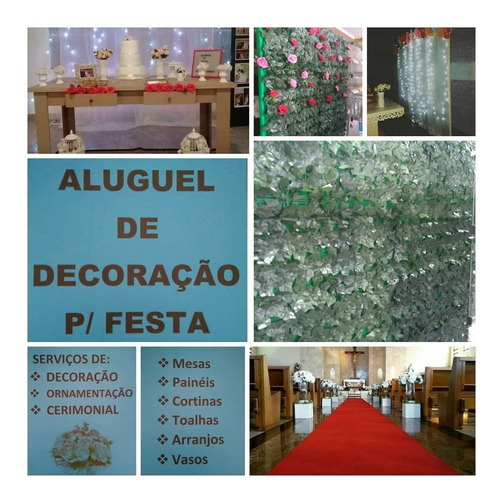 serviços de ornamentação, decoração e cerimonial