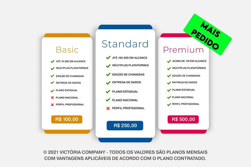 serviços de publicidade e marketing digital