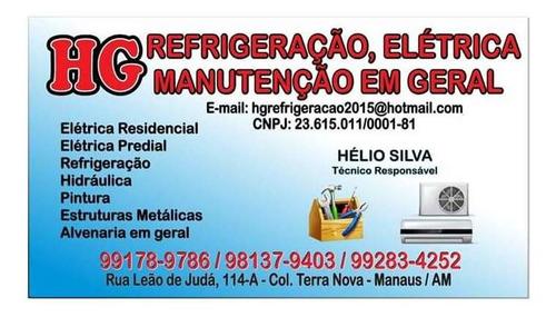serviços de refrigeração e manutenção em geral