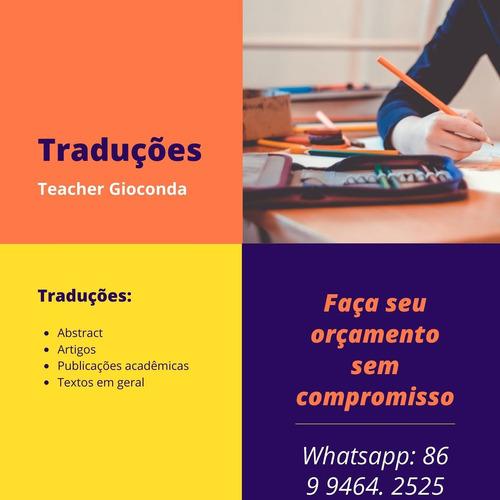 serviços de traduções em geral. inglês-portugues