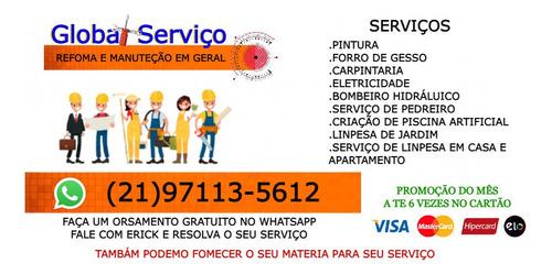 serviços e construção