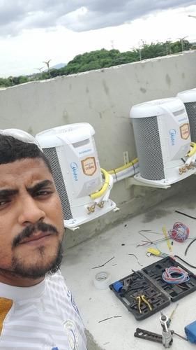 serviços em ar-condicionado