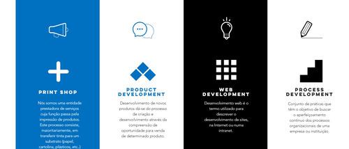 serviços premium de desenvolvimento gráfico