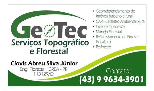 serviços topográficos