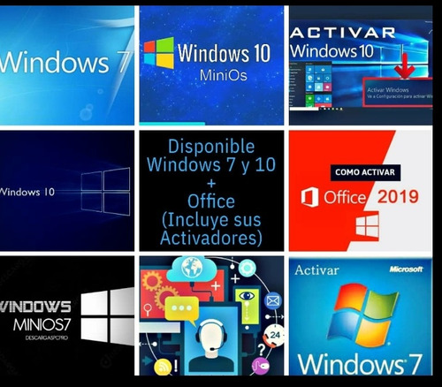 servido de windows 7,10 minion 7,10 activadores