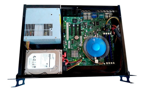 servidor 2u 19  placa supermicro 1u xeon x3430 2.41ghz 32gb