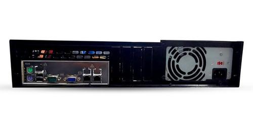 servidor 2u placa supermicro 2u xeon x3430 2.41ghz 8gb curto