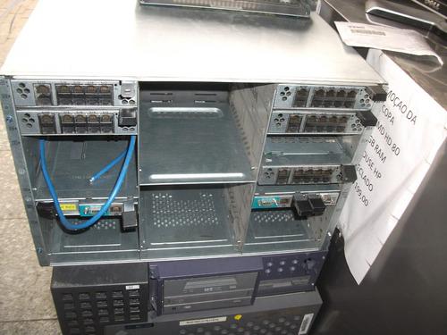 servidor com blade 1955 2,xeon quad e5320 4gb ram cd lamina