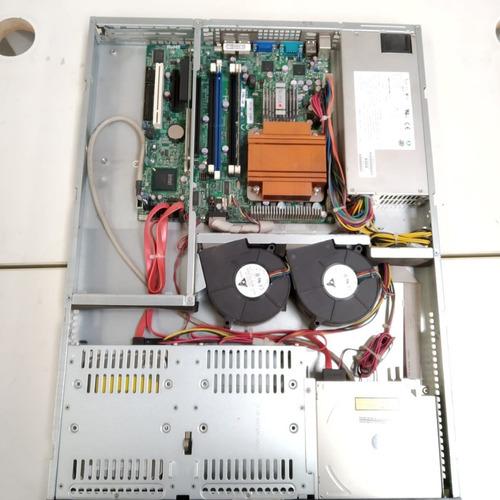 servidor completo core 2 duo 2.9ghz 1gb ram hd160gb cod.1412