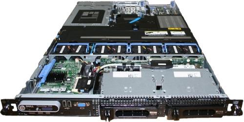 servidor dell 1950 2 xeon quad core 16g    2 teras