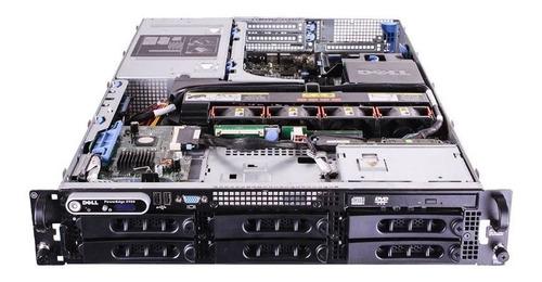 servidor dell 2950 - 2 xeon quad core 16gb / 2 tb seminovo