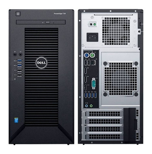 servidor dell power edge t30 xeon e3-1225 v5 3.3ghz 8gb 1tb