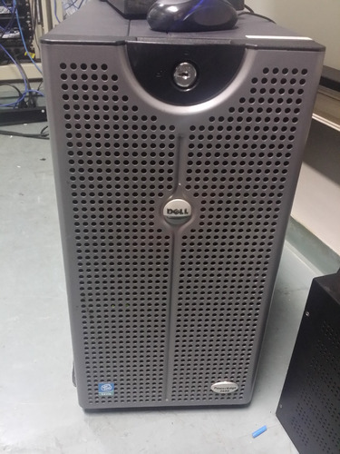 servidor dell poweredge 2600 2gb ram 1 hd 300gb 10k 1 hd 73