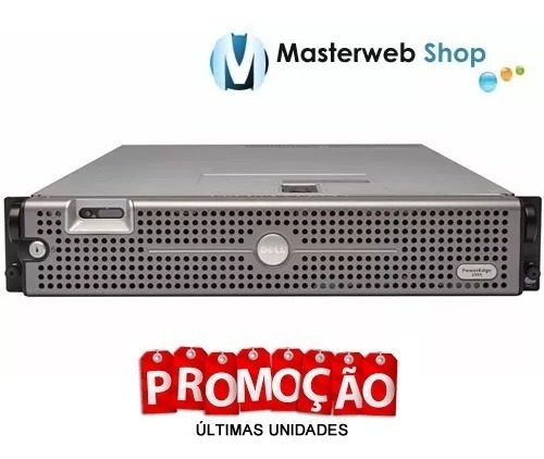 servidor dell poweredge 2950  2x quad 32gb  1hd 450gb
