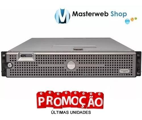 servidor dell poweredge 2950- 32gb-2x quad -300gb de hd