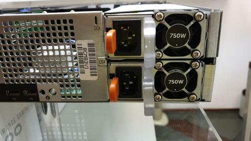 servidor dell poweredge r520 2 xeon quadcore 32gb 2x sas 600