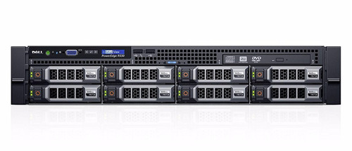 servidor dell poweredge r530 e5-2609v4 16gb 2 x 2tb garantia
