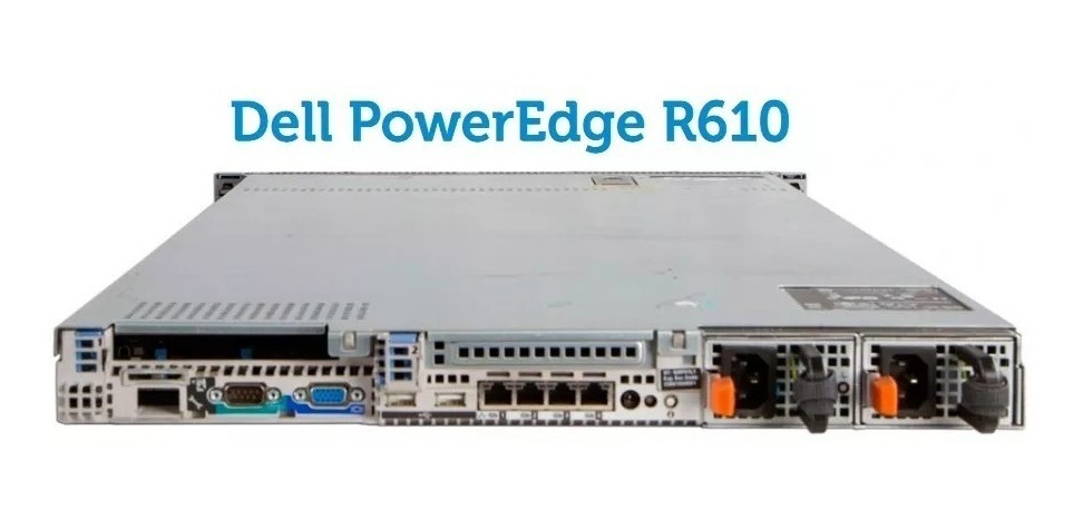 Servidor Dell Poweredge R610 2 Six-core X5650 16gb