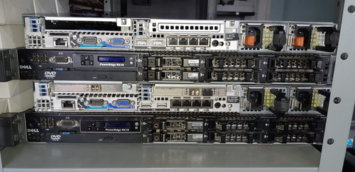 servidor dell poweredge r610 2xeon 5645 2sas450 + ssd 64gb