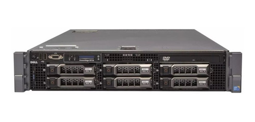 servidor dell poweredge r710 quad core xeon 64 gigas 2 teras