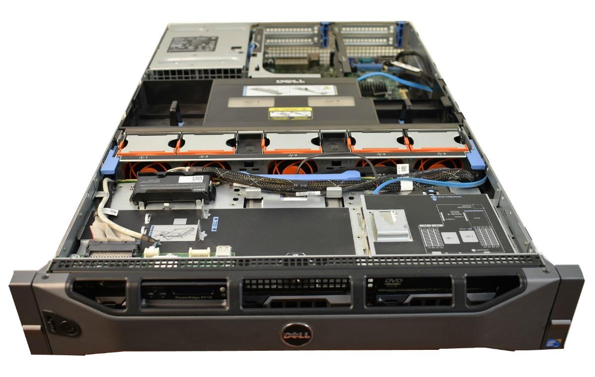 Servidor Dell Poweredge R710 Xeon Ram 32 Raid 2 Dd 1tb + 500 - $ 16,750 00