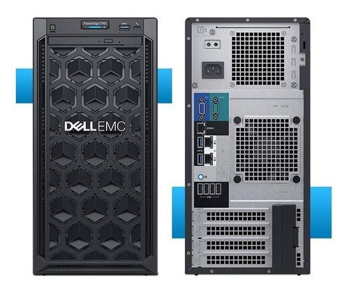 servidor dell poweredge t140 intel xeon e-2126g/16gb/1tb/dvd