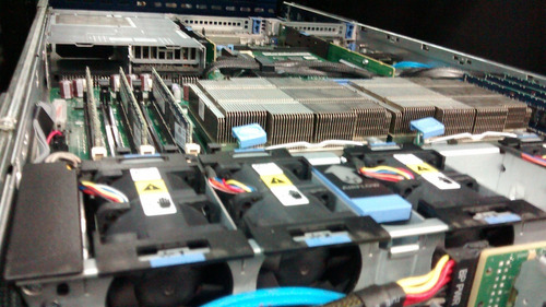 servidor dell r610 2x sixcore x5660 300gb hd - 16gb ram