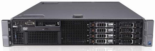 servidor dell r710 2 quad core 2.5ghz 16gb ddr3 2x 300gb