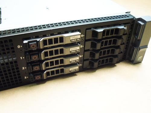 servidor dell r710 2x sixcore 2.67ghz 16gb gaveta para 8 hds