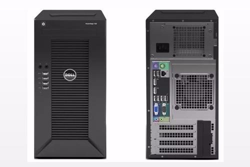 servidor dell t30 pc intel g4400 3.3 ghz 4gb ram 1tb