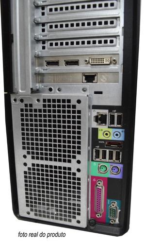 servidor dell t3500 intel xeon 4gb m. 500gb hd vga quadro