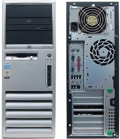 servidor hp dc7600 pentium d3.4 ghz ram 2gb ddr2 disco 160gb