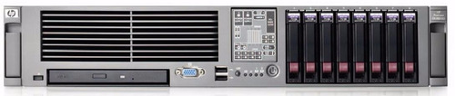 servidor hp dl 380 g5 2xquad / 16gb ram /4x146gb sas