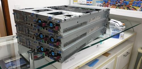 servidor hp dl380 g7 2 xeon 5620 32gb hd sas 600gb com garan